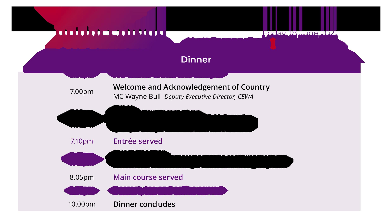 agenda_dinner